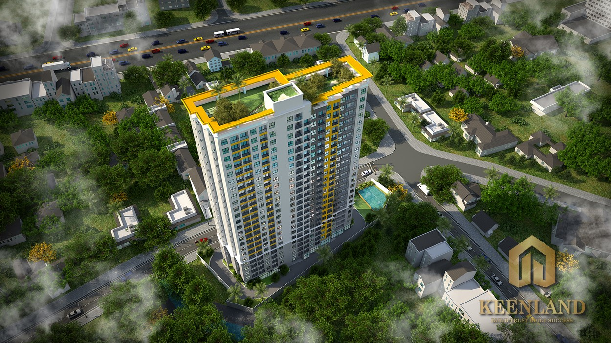 Phối cảnh dự án căn hộ Bcons Bee Nội Hóa Dĩ An Bình Dương