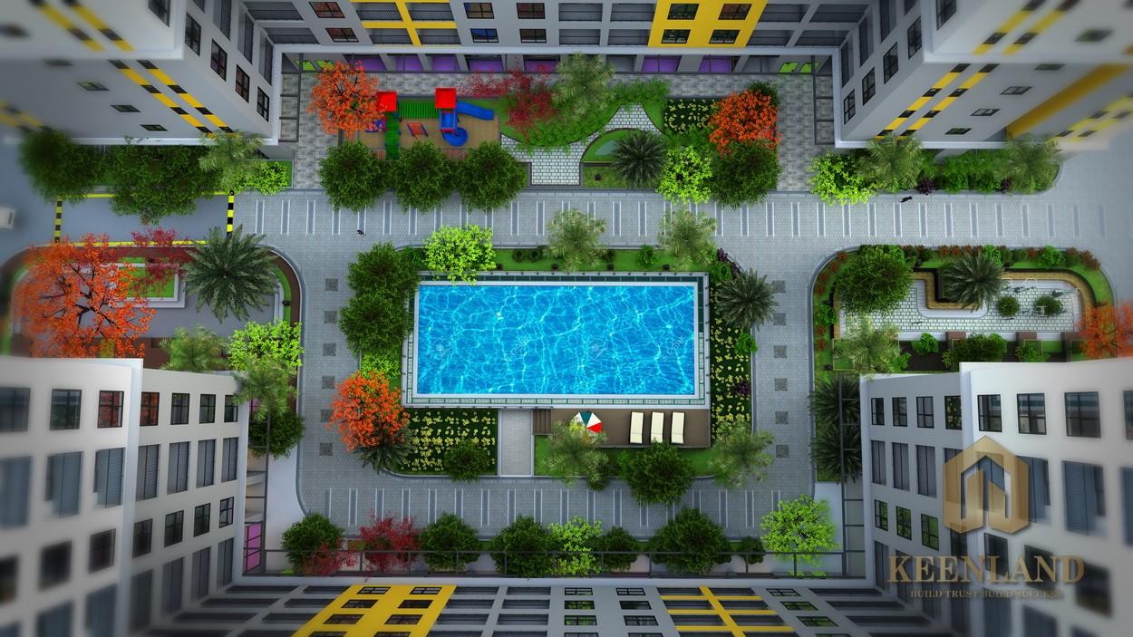 Phối cảnh dự án căn hộ Bcons Plaza Bình Dương - Phú Gia Thịnh