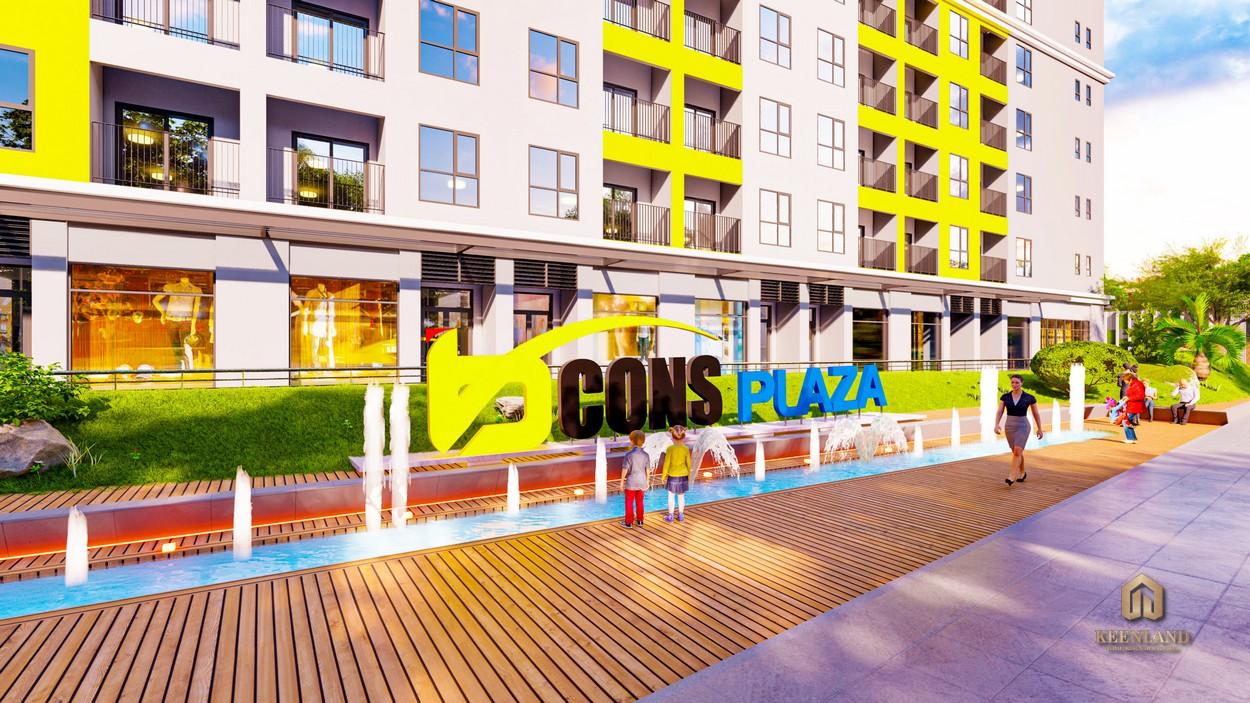 Bcons Plaza Bình Dương mua ban cho thue du an can ho bcons plaza 3