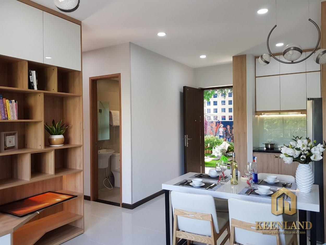 Phối cảnh nhà mẫu dự án căn hộ Bcons Garden Bình Dương