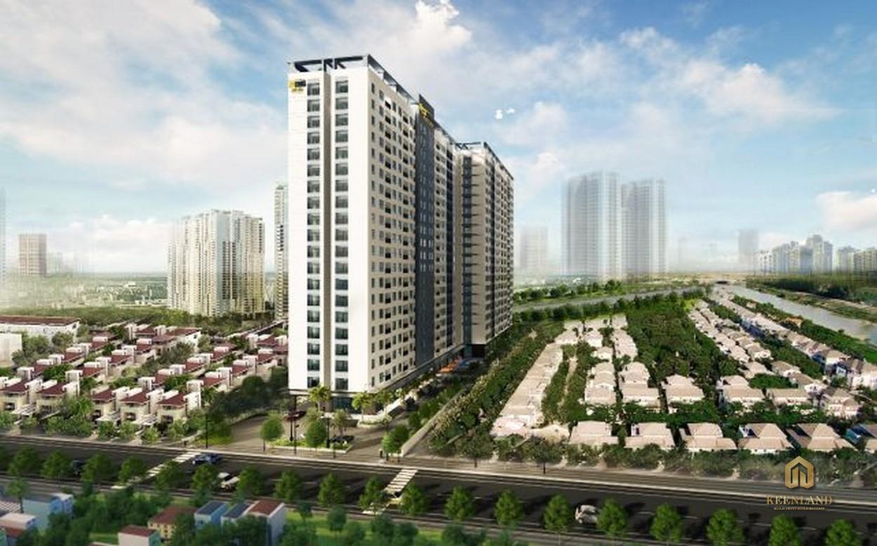 Phối cảnh dự án căn hộ Bcons Suối Tiên