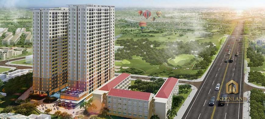 Tiến độ xây dựng dự án Bcons Green View Bình Dương Tháng 08/2020