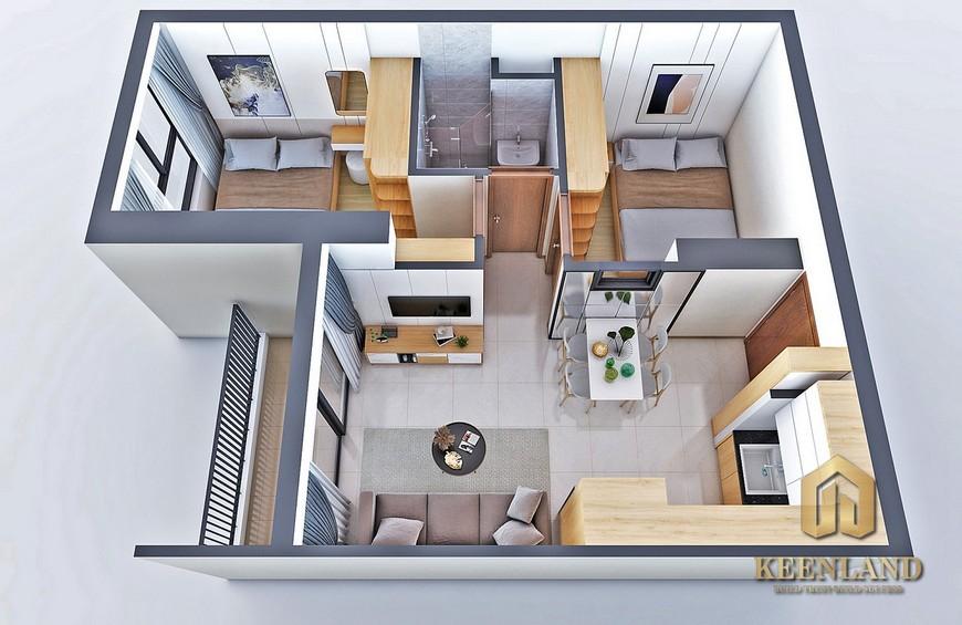 Thiết kế dự án căn hộ Bcons Bee Dĩ An Bình Dương