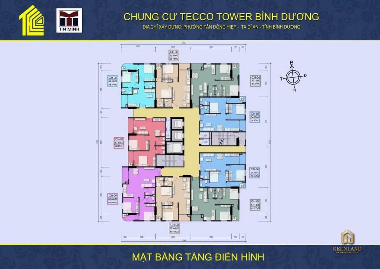 Mua bán cho thuê dự án Tecco Tower Dĩ An