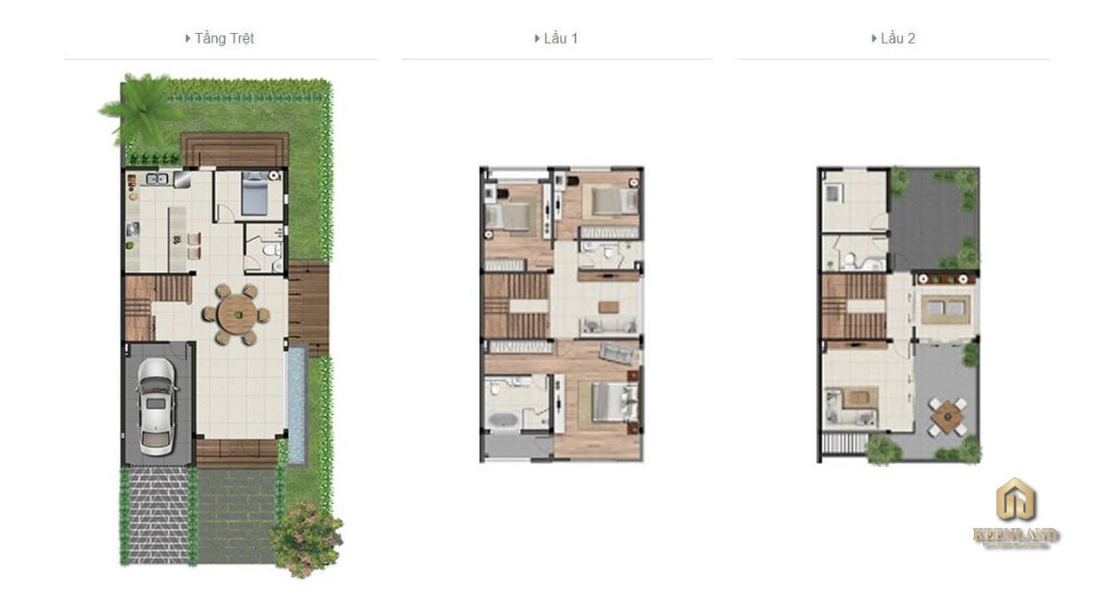 Mua bán cho thuê dự án nhà phố Clarita Khang Điền