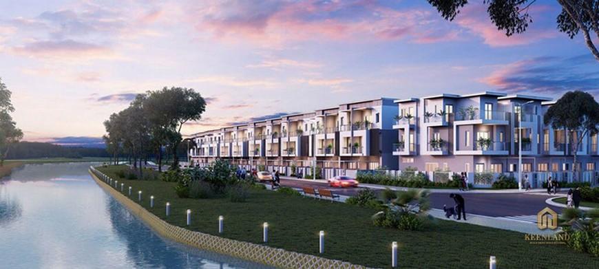 Tiến độ xây dựng dự án nhà phố biệt thự Lovera Premier Tháng 08/2020