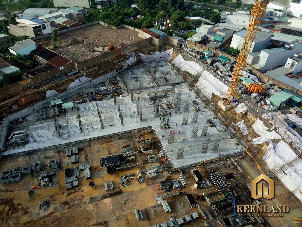 Tiến độ xây dựng dự án căn hộ Bcons Green View Bình Dương