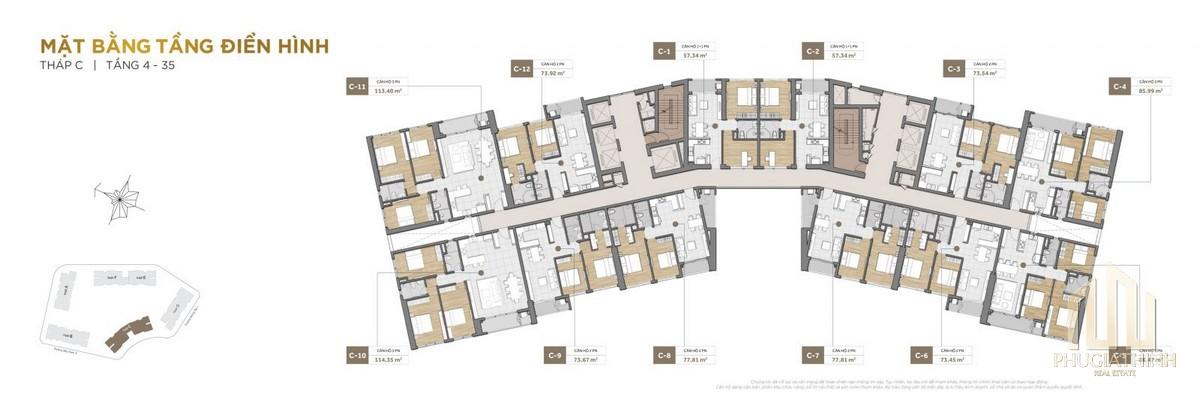 Thiết kế dự án căn hộ The Palace Residence Quận 2