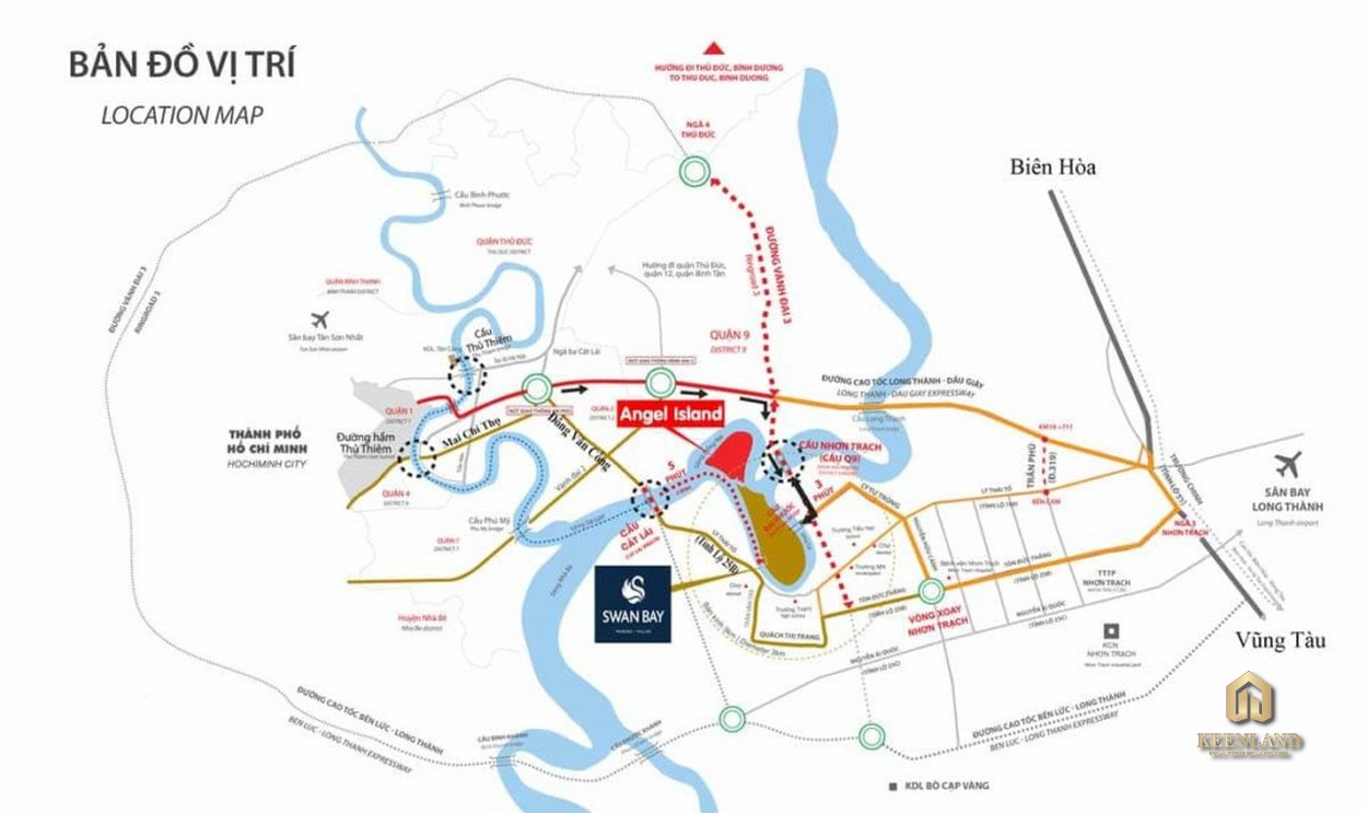 Mua bán cho thuê dự án Angel Island Đồng Nai - Hotline 0908 353 383