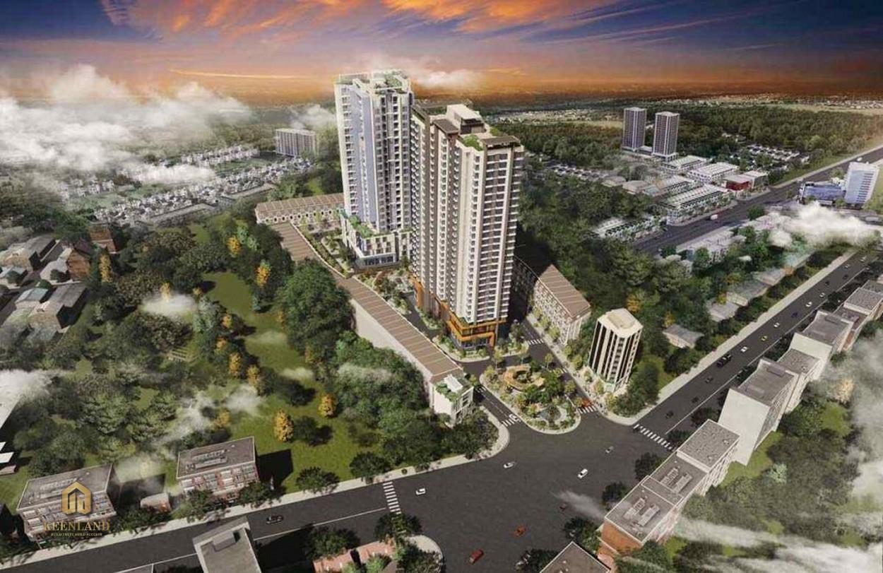 Tiến độ xây dựng dự án căn hộ Anderson Park cuối Tháng 08/2020