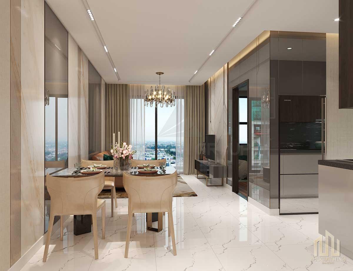 Nhà mẫu dự án căn hộ Opal City View Thủ Dầu Một