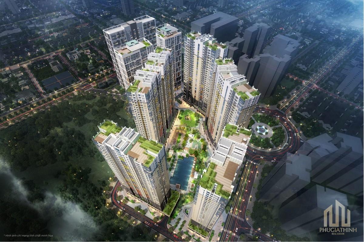 Phối cảnh dự án căn hộ The Palace Residence Quận 2