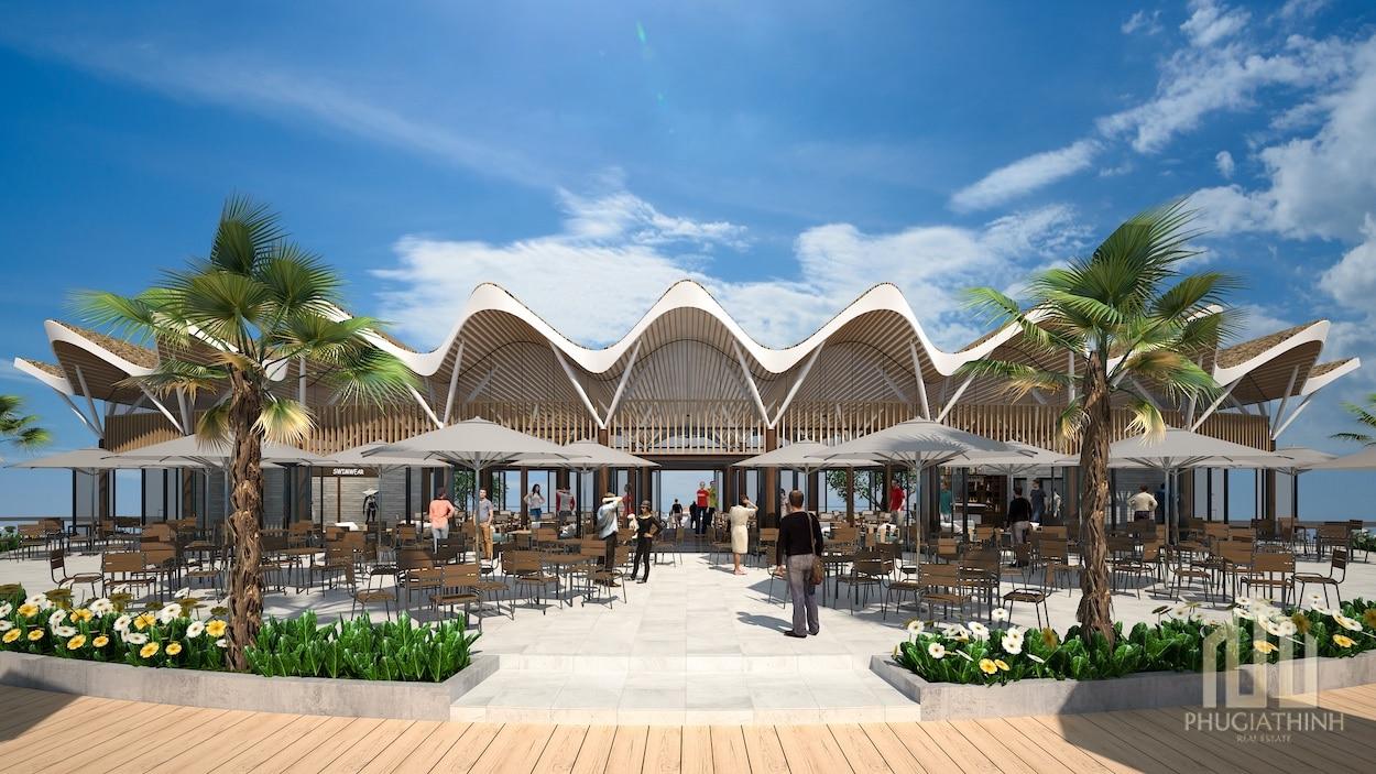 The Maris - Beachclub Facade 2