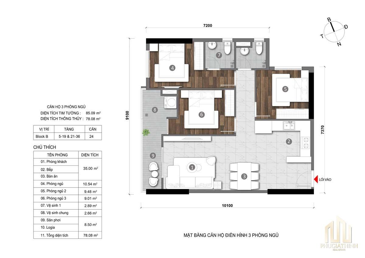 Thiết kế dự án căn hộ Opal City View Thủ Dầu Một