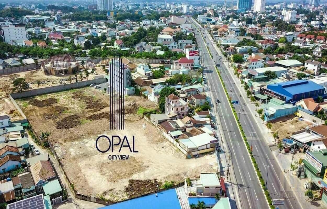 Vị trí thực tế dự án căn hộ chung cư Opal Cityview Bình Dương