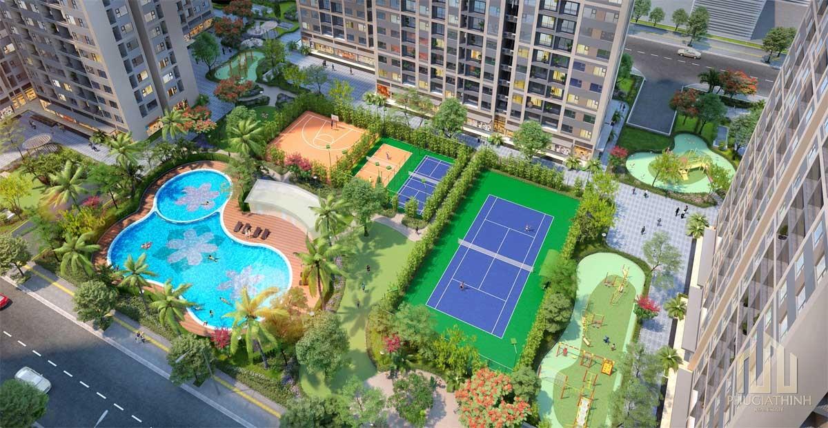 Tiện ích dự án căn hộ Opal City View Thủ Dầu Một