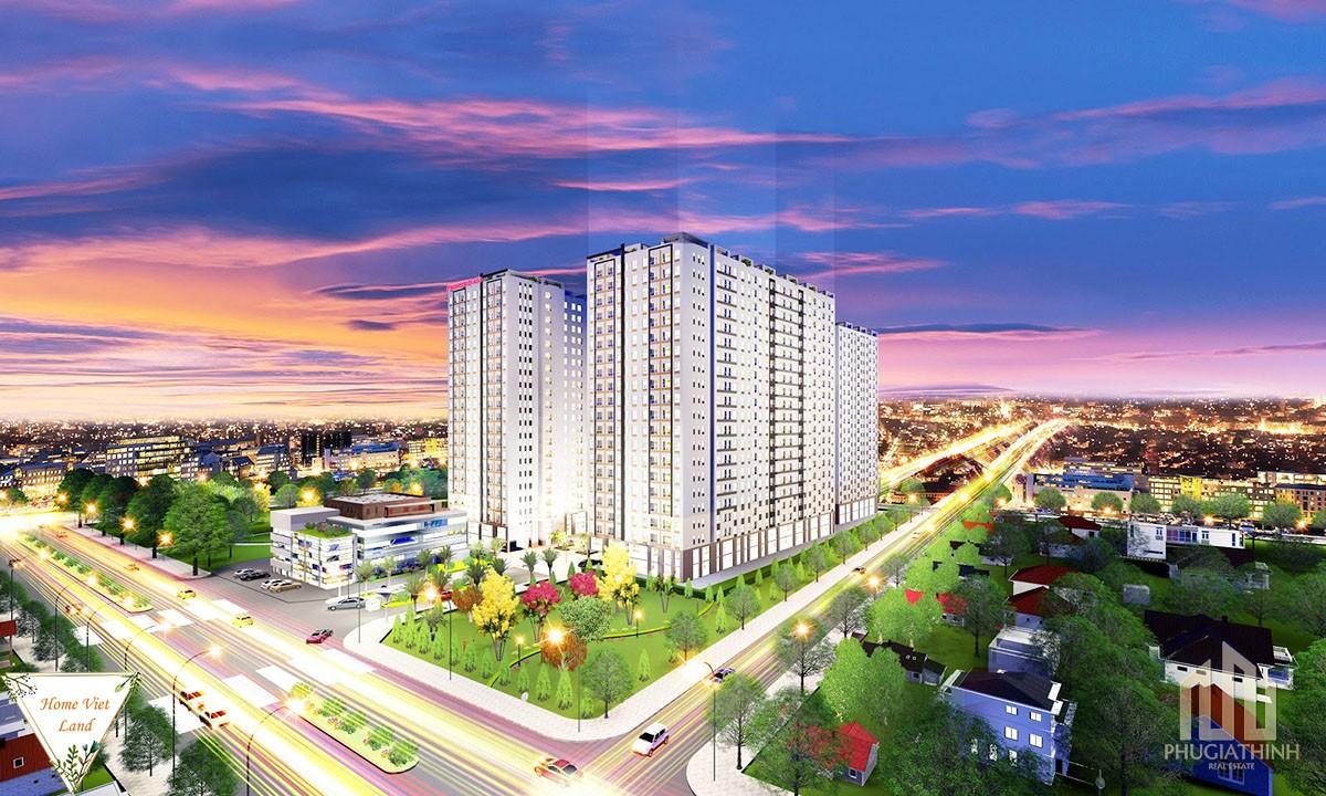 Phối cảnh dự án căn hộ Tecco Vina Garden Quận 9
