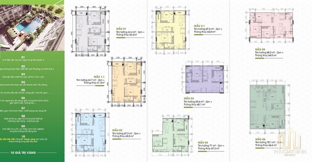Thiết kế dự án căn hộ Tecco Vina Garden Quận 9