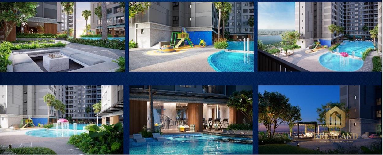 Chuỗi tiện ích nội khu tại dự án căn hộ The Rivana