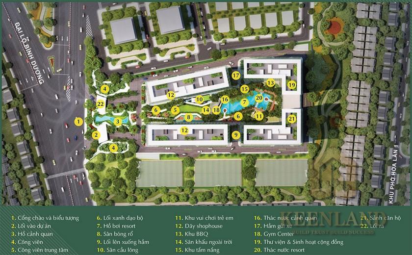 Tìm hiểu các tiện ích nổi bật của dự án căn hộ Anderson Park Thuận An
