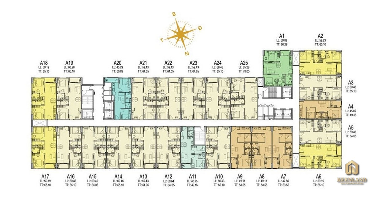 Mua bán cho thuê dự án Prosper Plaza Quận 12
