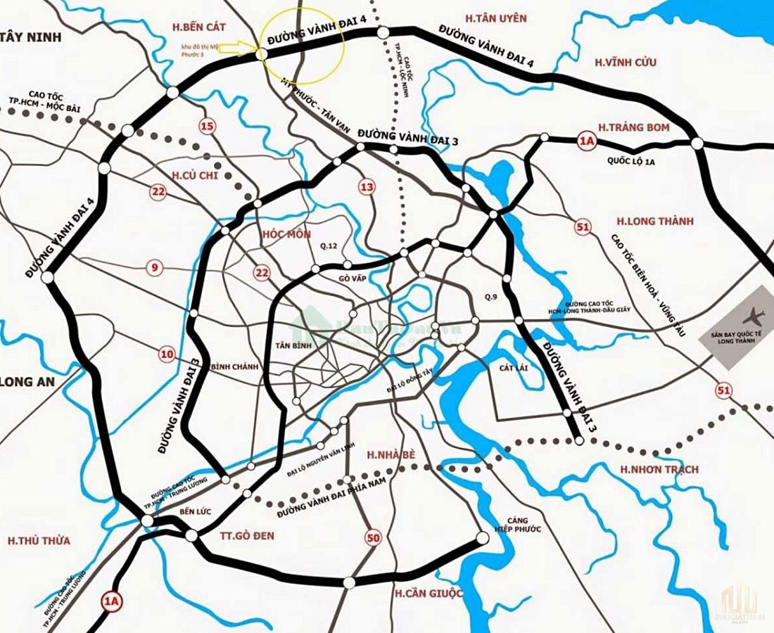 Bản đồ chi tiết quy hoạch Đường vành đai 3 mới nhất