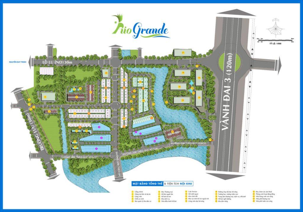 Mặt bằng dự án Rio Grand Quận 9