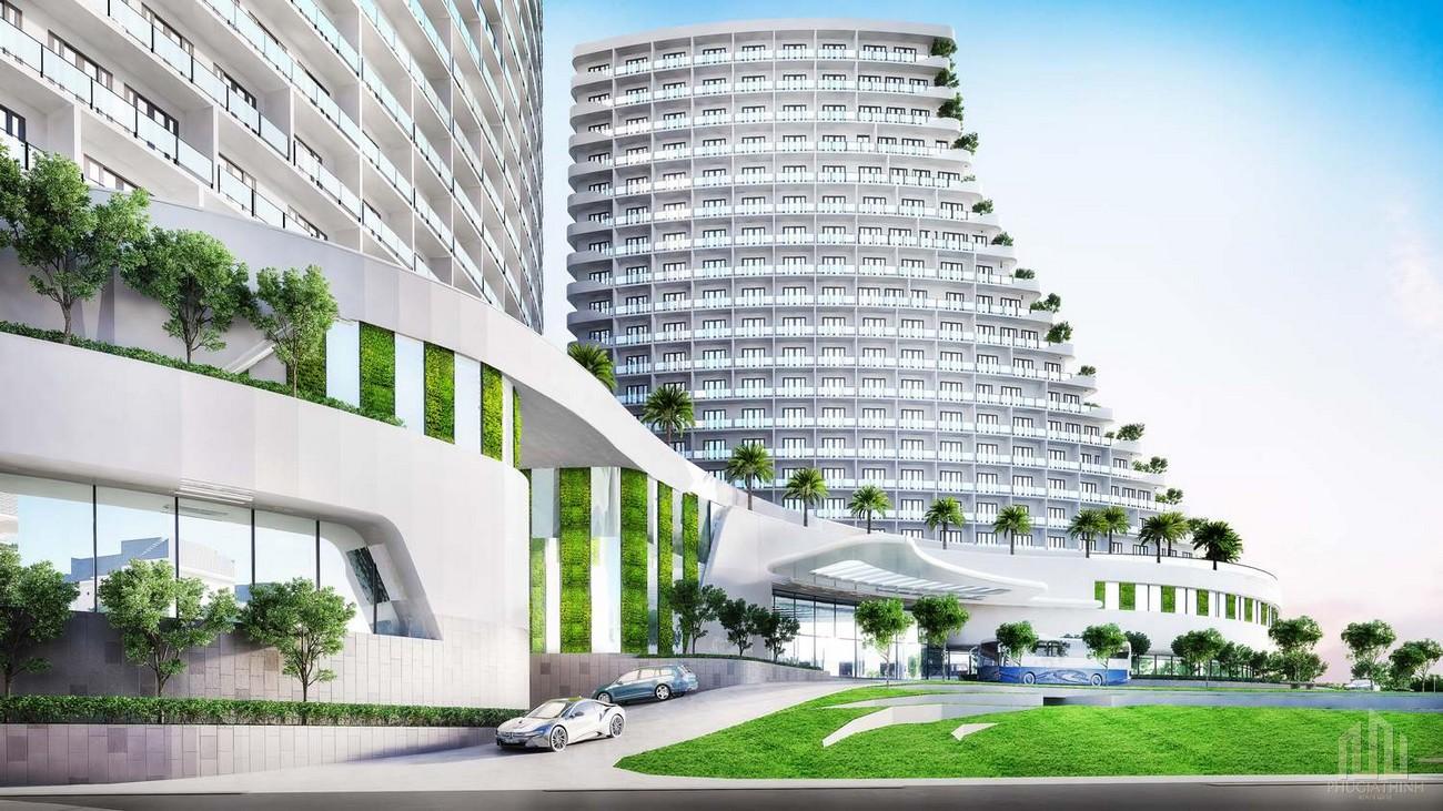 Phổi cảnh tổng thể dự án Charm Resort Hồ Tràm
