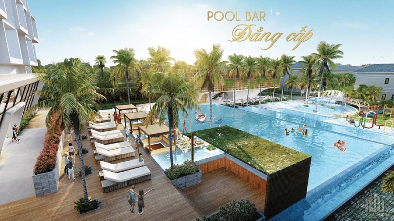 Tiện ích ngoại khu dự án Charm Resort Hồ Tràm
