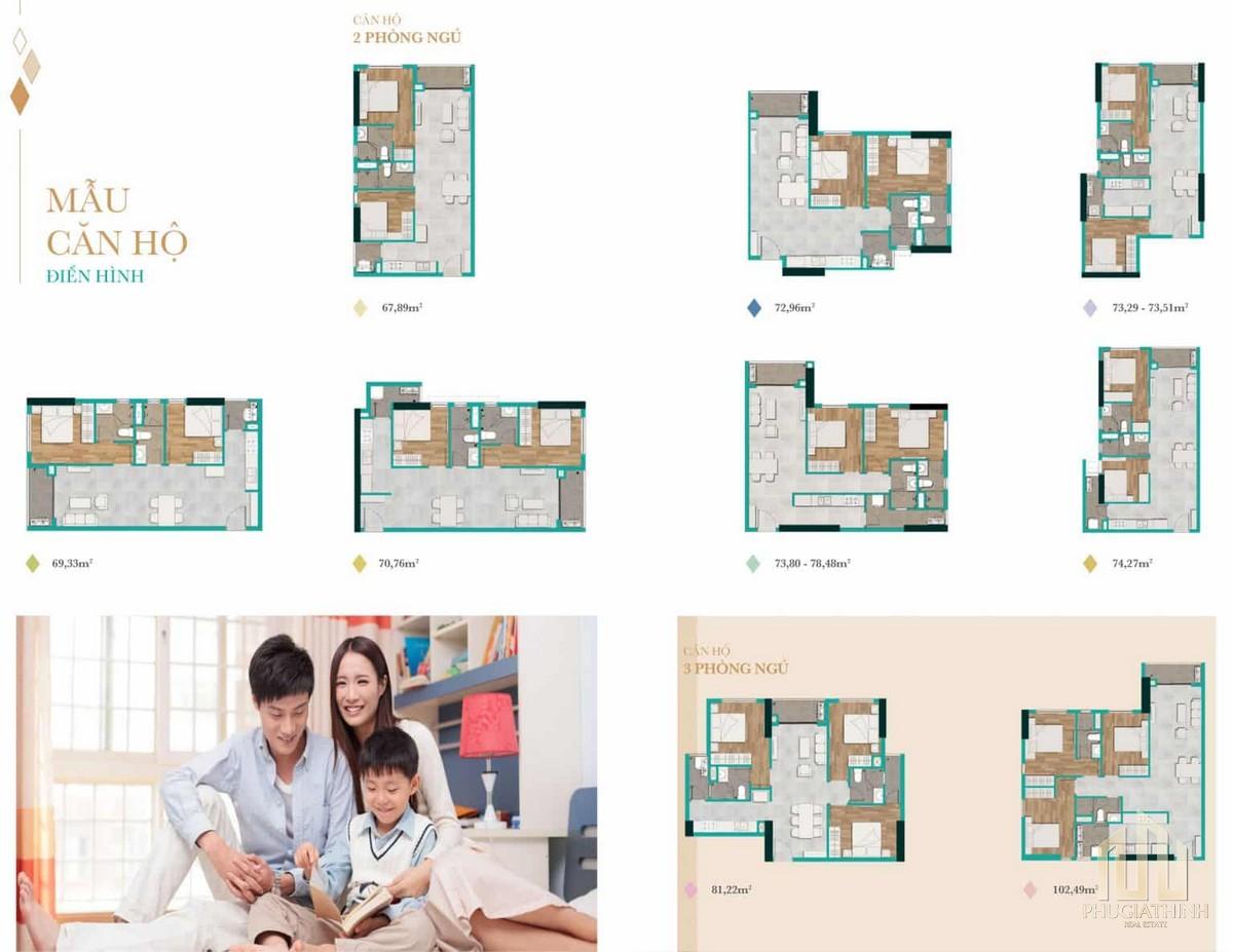 Mẫu thiết kế căn hộ Biên Hoà Universe Complex