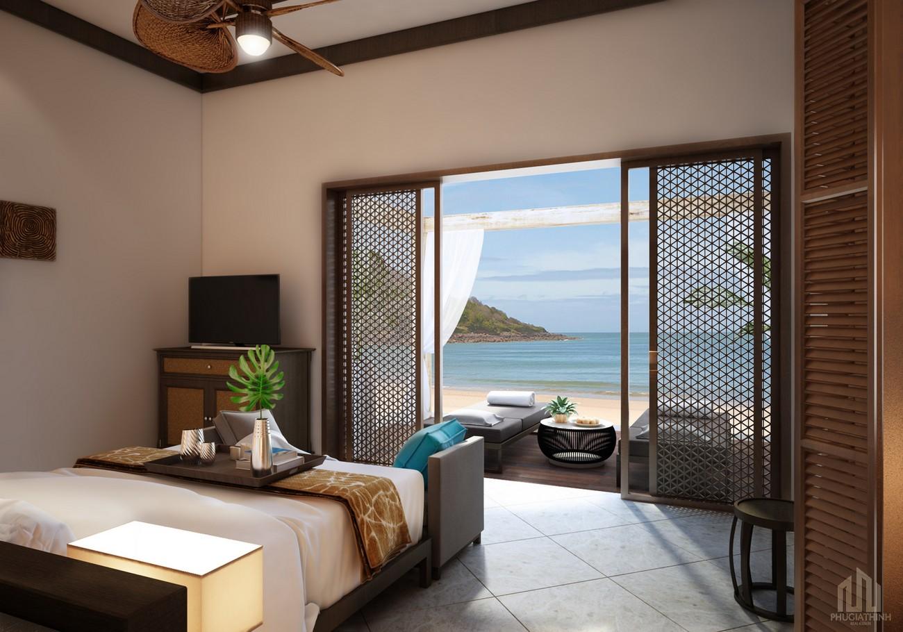 Thiết kế Condotel biệt thự biển dự án Charm Hồ Tràm