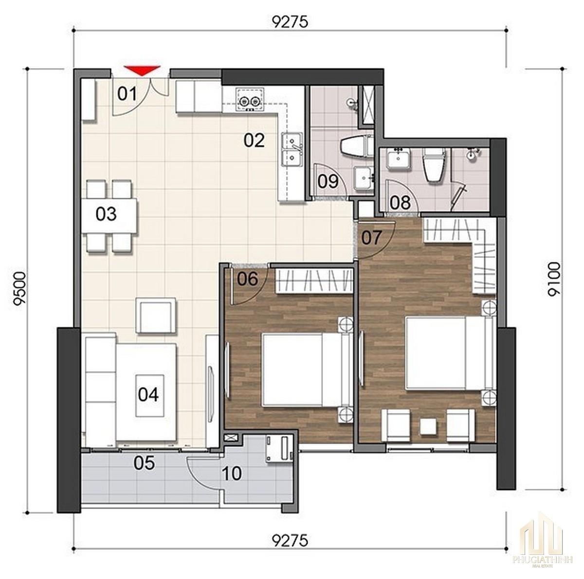 Thiết kế dự án căn hộ Gem Riverside Quận 2