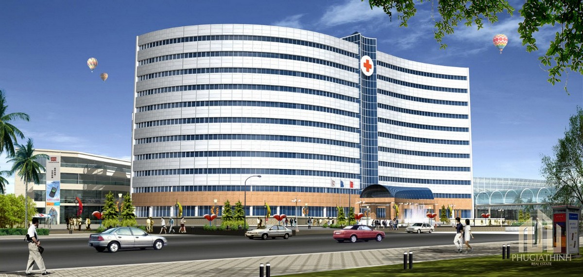 Bệnh viện Quốc Tế Quận 9 dự kiến xây dựng cách vị trí dự án King Crown Infinity Thủ Đức khoảng 10 phút di chuyển