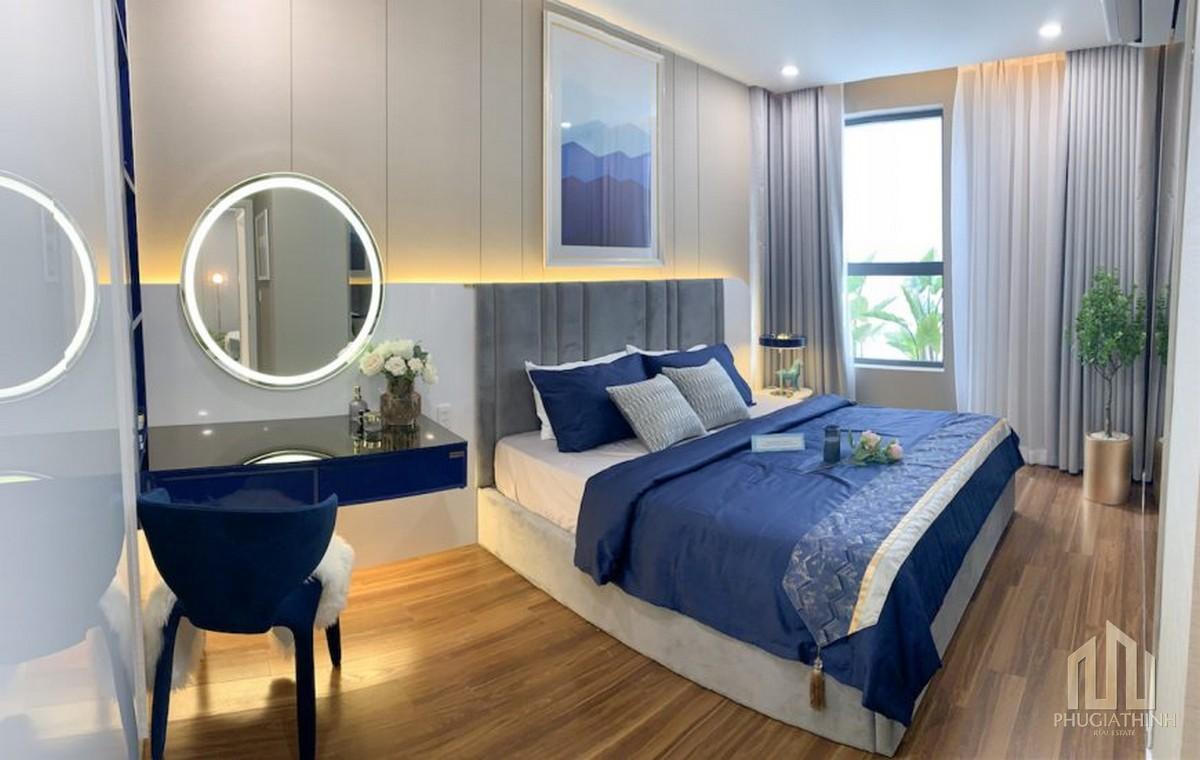 Phòng ngủ dự án căn hộ Precia Quận 2