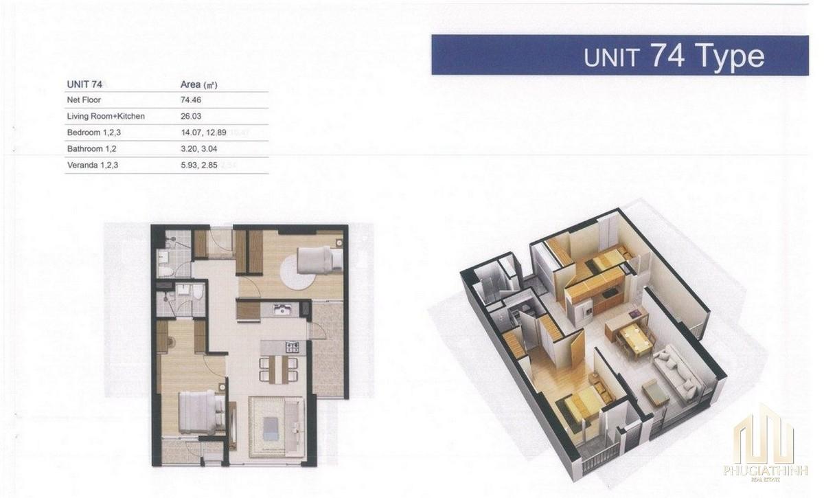 Thiết kế chi tiết căn hộ Laimian City