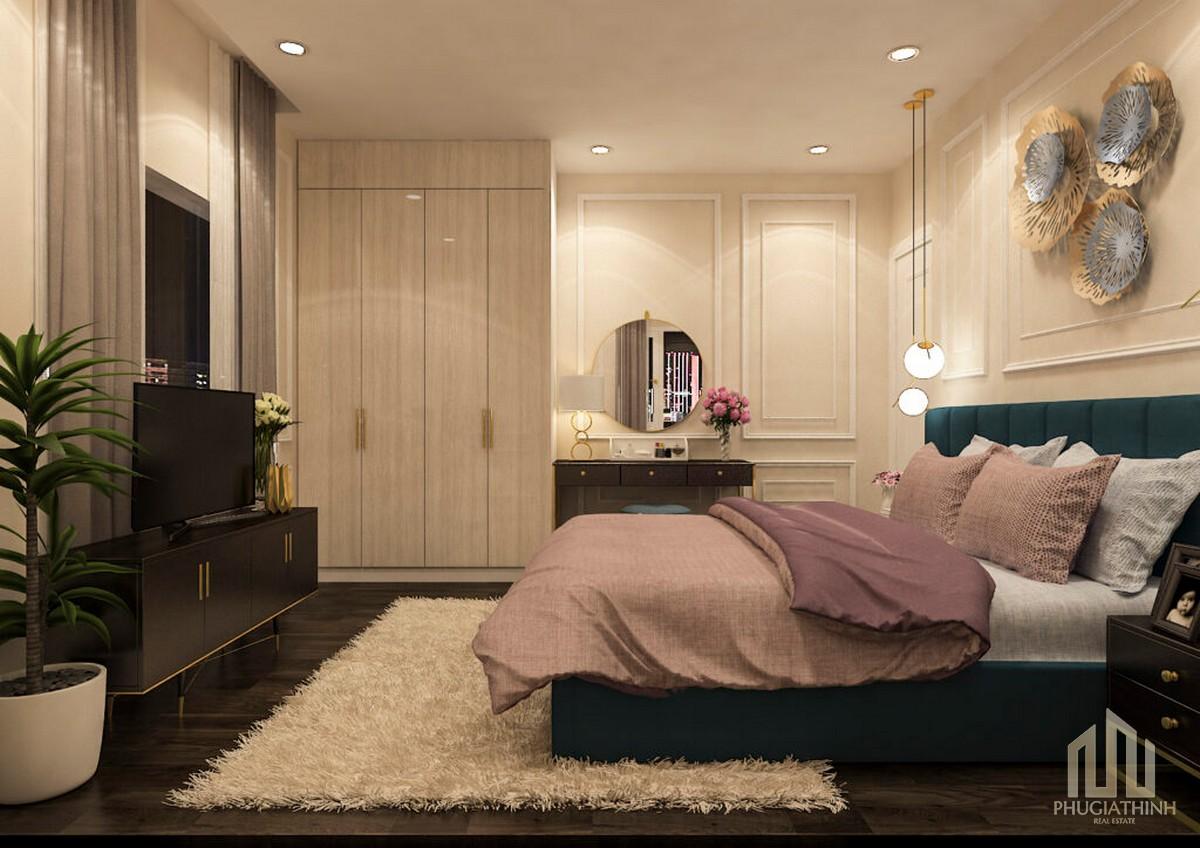 Phòng ngủ dự án Paris Hoàng Kim