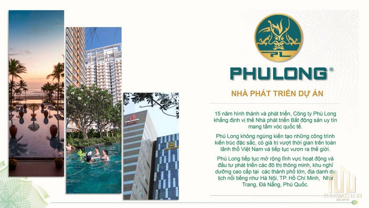 Công ty Cổ phần địa ốc Phú Long - CĐT dự án Dragon E-Home