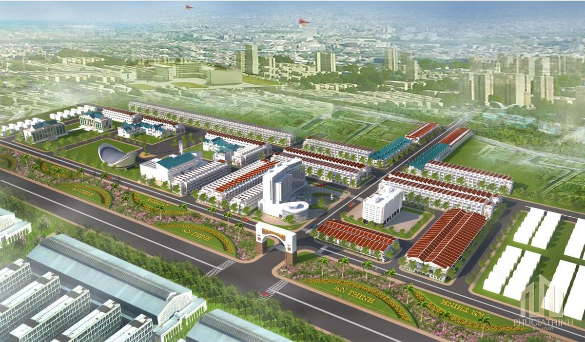 Mặt bằng dự án KĐT An Thịnh Quảng Nam