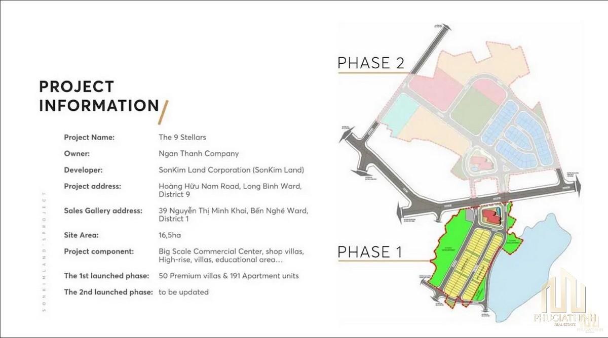 Thông tin dự án The 9 Stellars update mới nhất