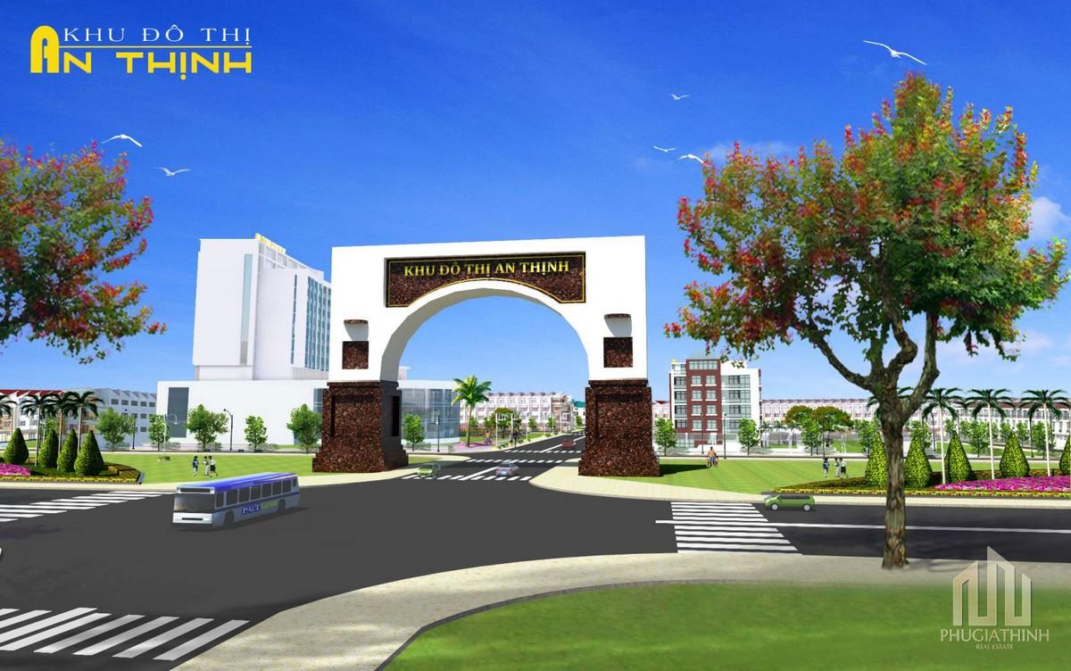 Phối cảnh tổng thể khu đô thị An Thinh Quảng Nam