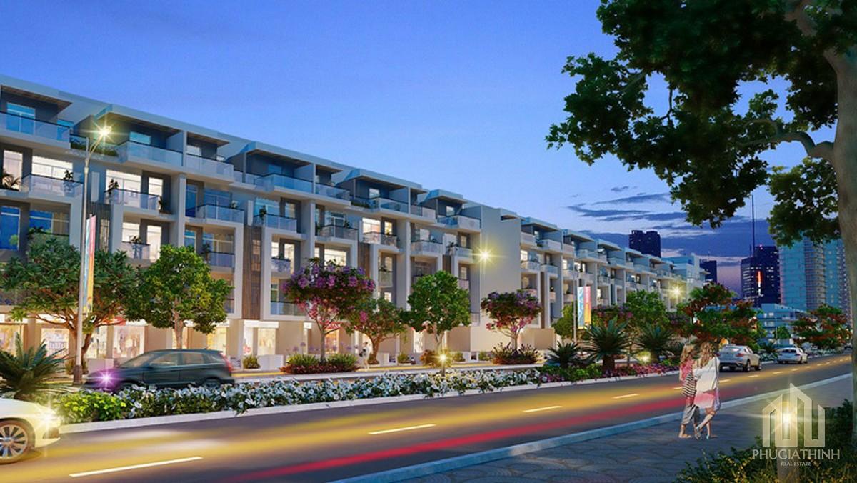 Phối cảnh nhà phố dự án Him Lam City Quận 2 (Khu đô thị Bình An)