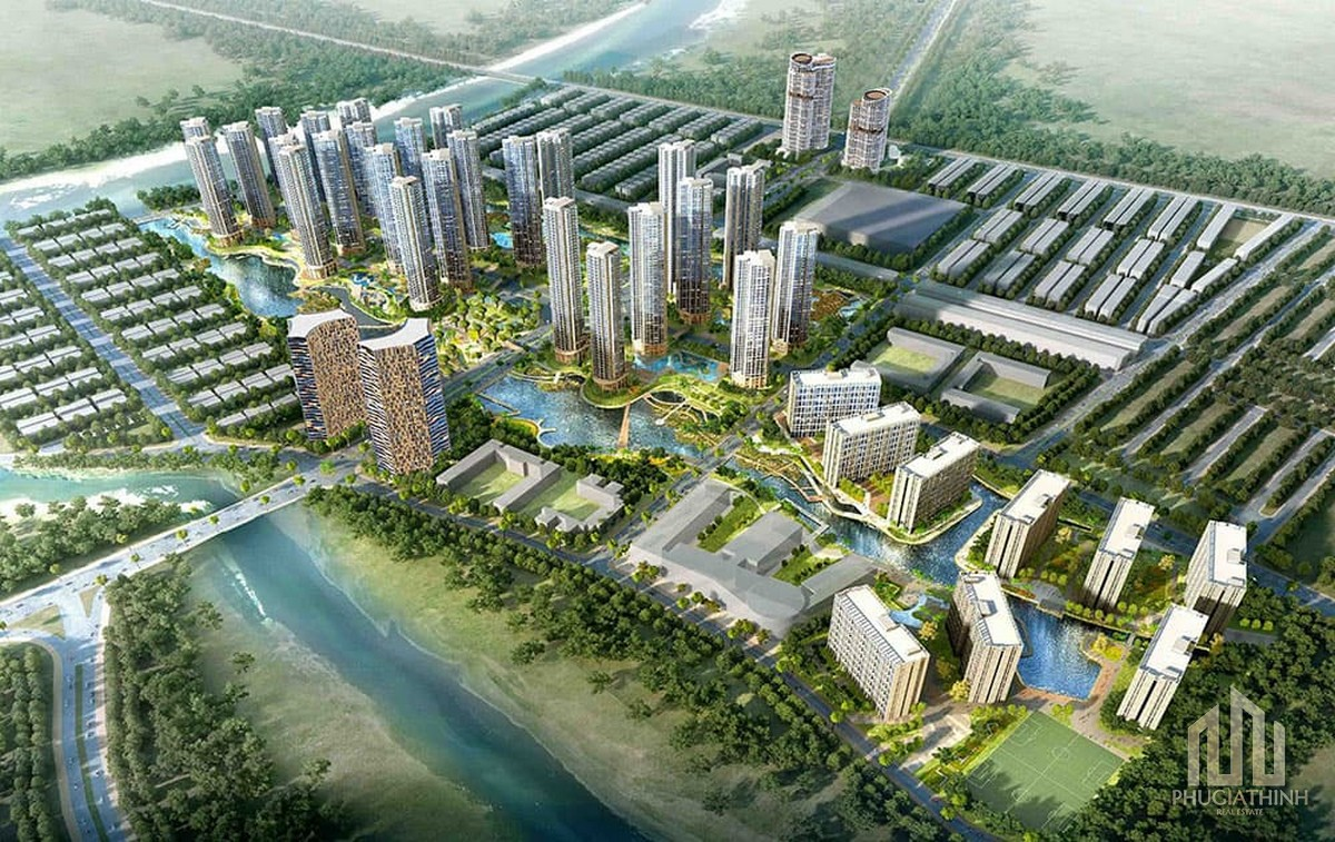 Phối cảnh dự án Him Lam City Quận 2 (Khu đô thị Bình An)