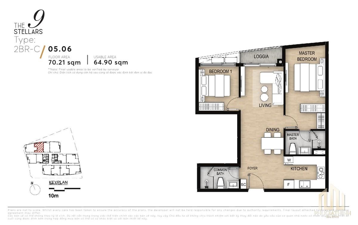 Thiết kế căn 2PN - Type A