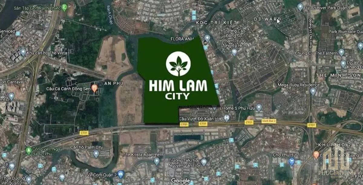DỰ ÁN HIM LAM CITY QUẬN 2 vi tri him lam city 1