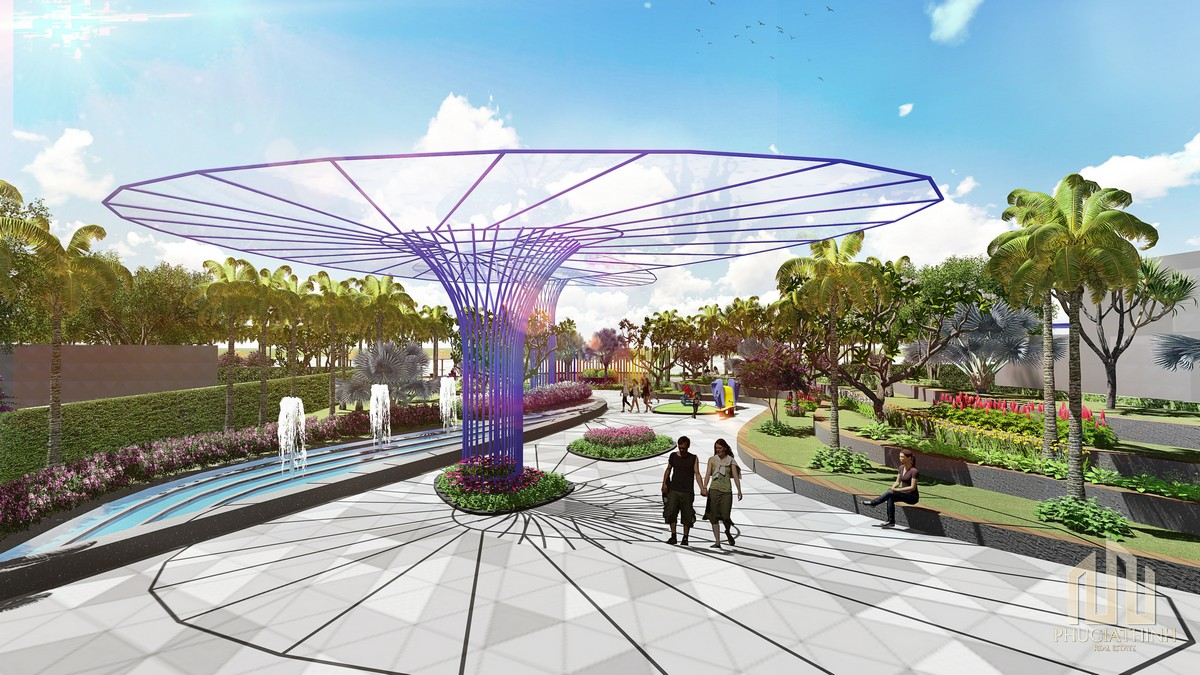 Công viên Garden By The Way Aria Vũng Tàu