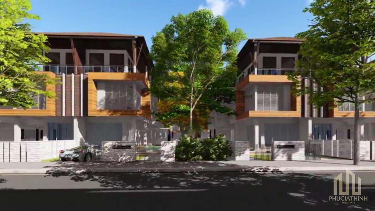 Biệt thự mẫu dự án Jamona Tân Vạn