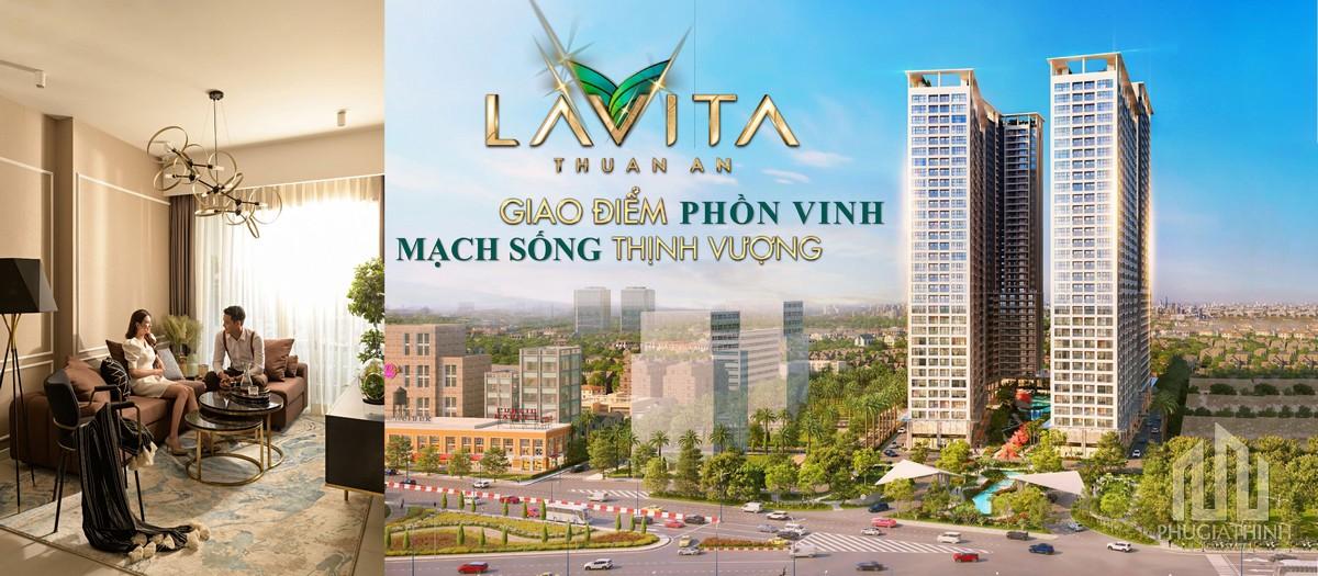 Phối cảnh tổng thể dự án căn hộ Lavita Thuận An Bình Dương