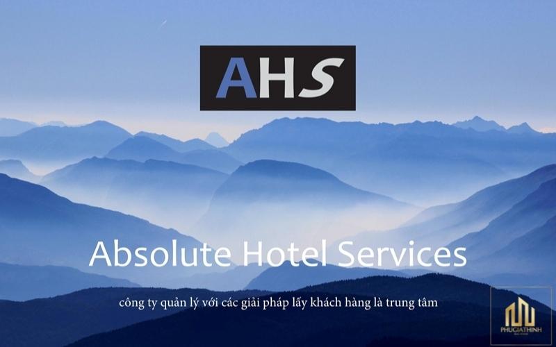 Tập đoàn AHS – Absolute Hotel Services đơn vị quản lý hàng đầu châu Á
