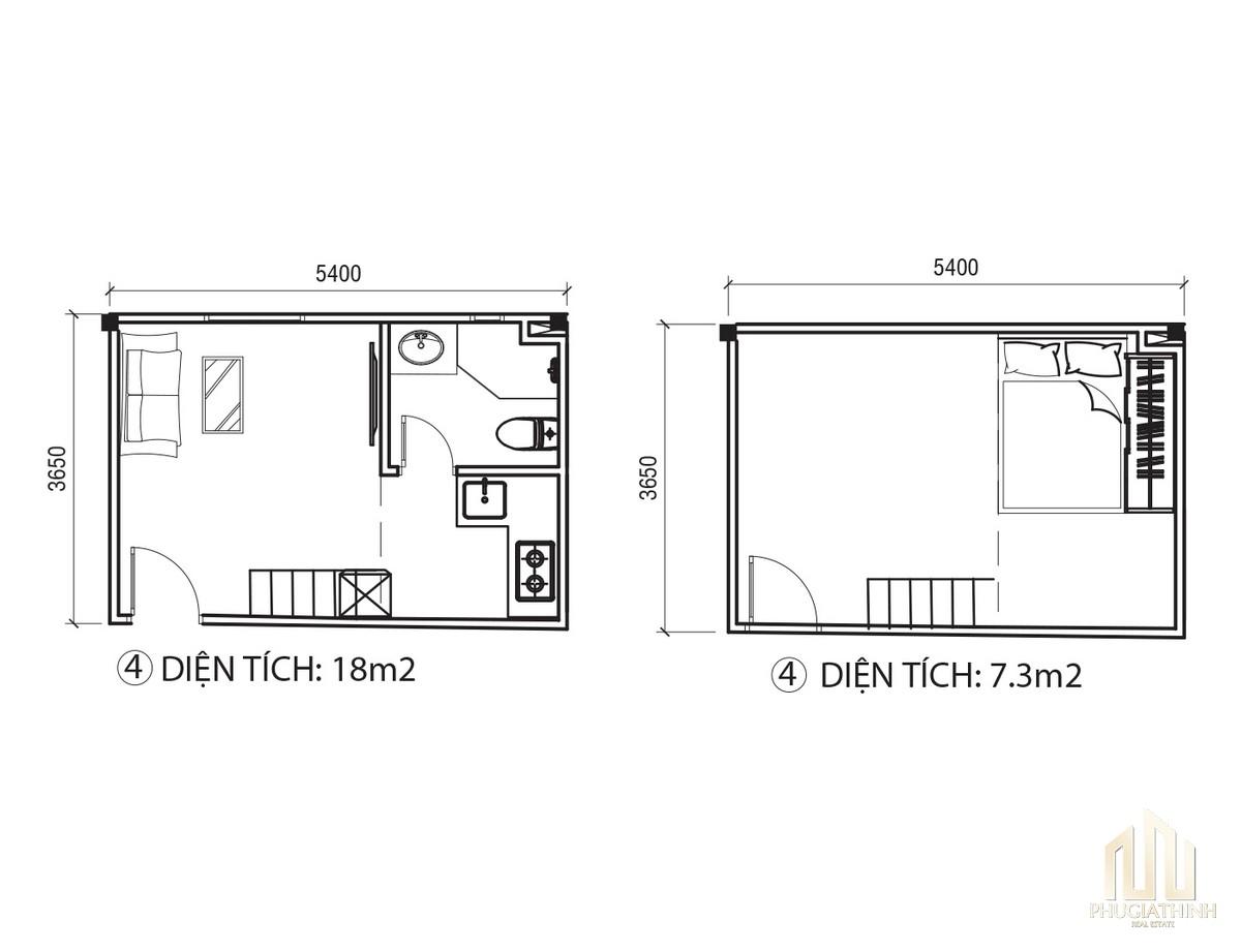 Thiết kế chi tiết căn hộ EcoHome Q3