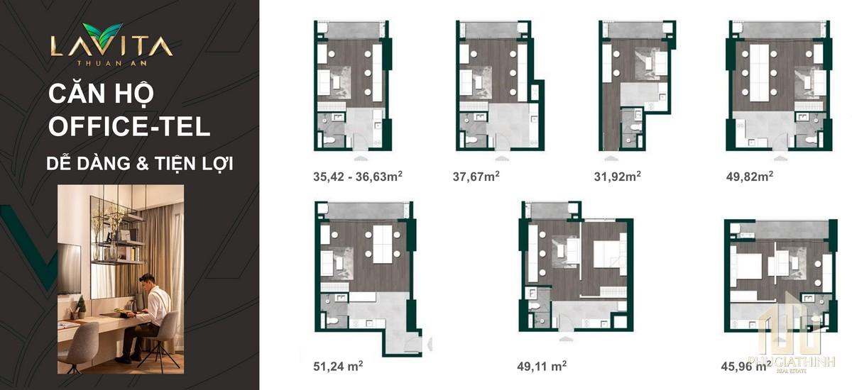 Thiết kế căn hộ Lavita Thuận An Bình Dương